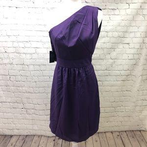 Vince Camuto Asymmetric A-Line Dress